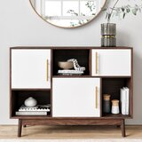 Carlson 3 Door Apothecary Accent Cabinet by George Oliver