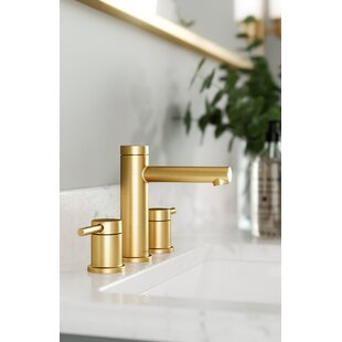 Align Widespread Bathroom Faucet with Drain Assembly