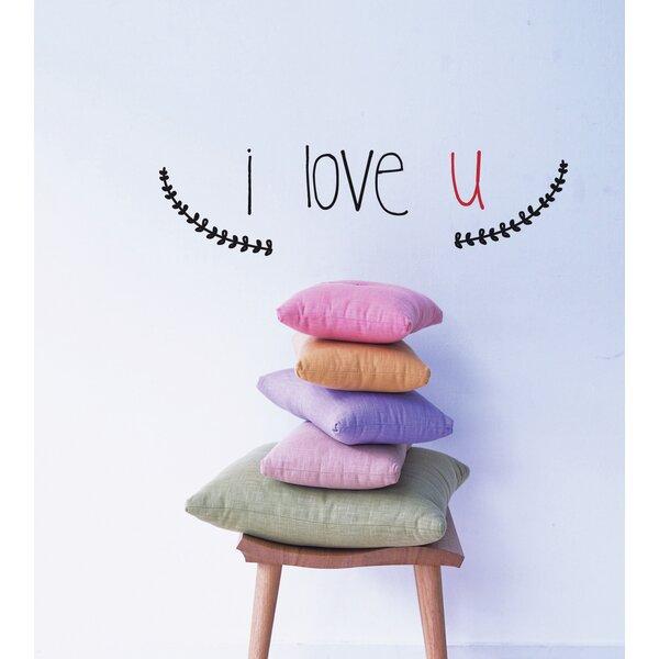 Mia & Co I Love U Wall Decal by ADZif