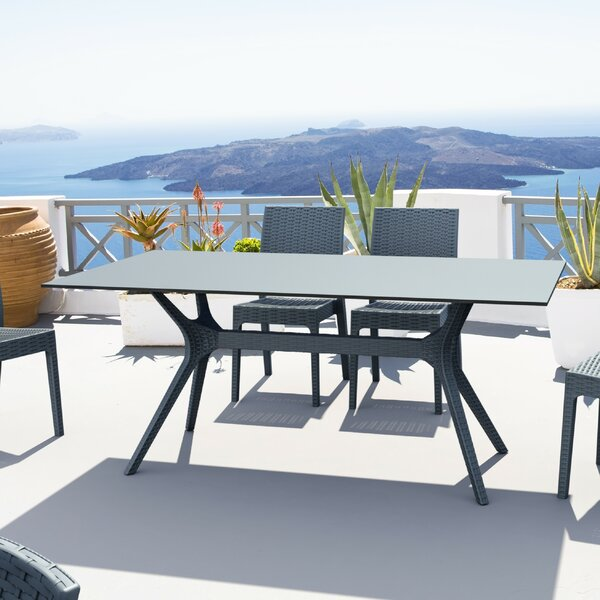 Fray Rectangle Dining Table by Ivy Bronx