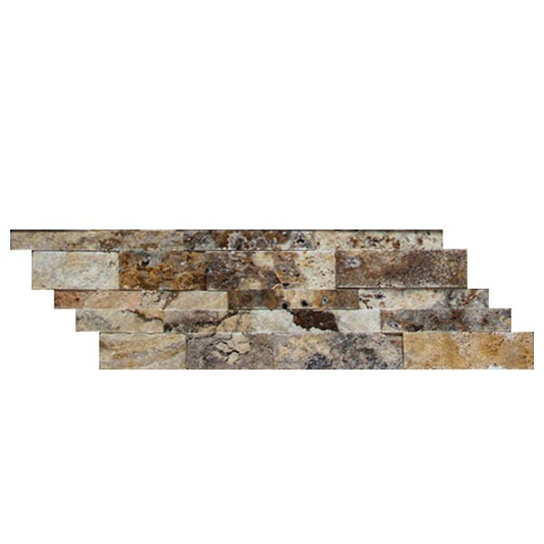 Random Sized Natural Stone Mosaic Splitface Tile in Fantastico by QDI Surfaces