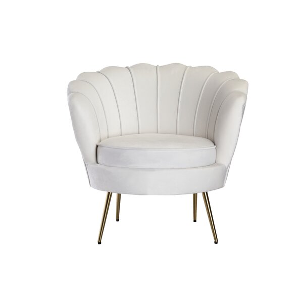 Dominick Barrel Chair by Everly Quinn