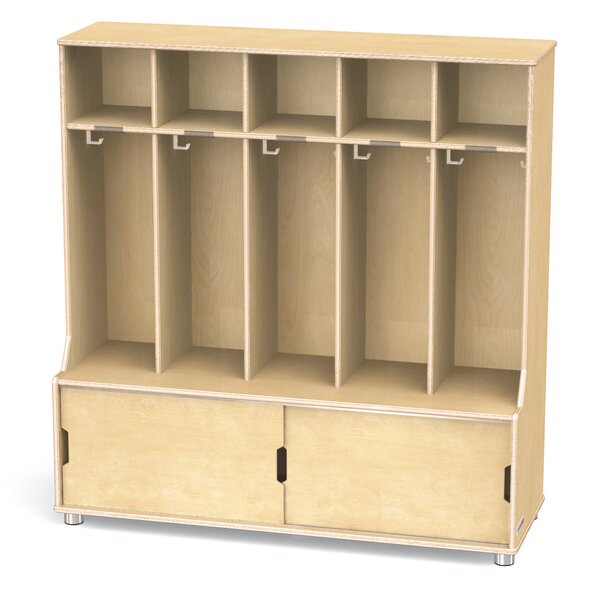TrueModem 3 Tier 5 Wide Coat Locker by Jonti-Craft