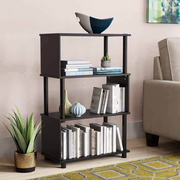 Desirae Geometric Bookcase By Ebern Designs