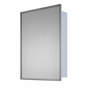 Order Otelia 16 W x 22 H Surface Mount or Recessed Framed Medicine Cabinet with 3 Adjustable Shelves By Winston Porter