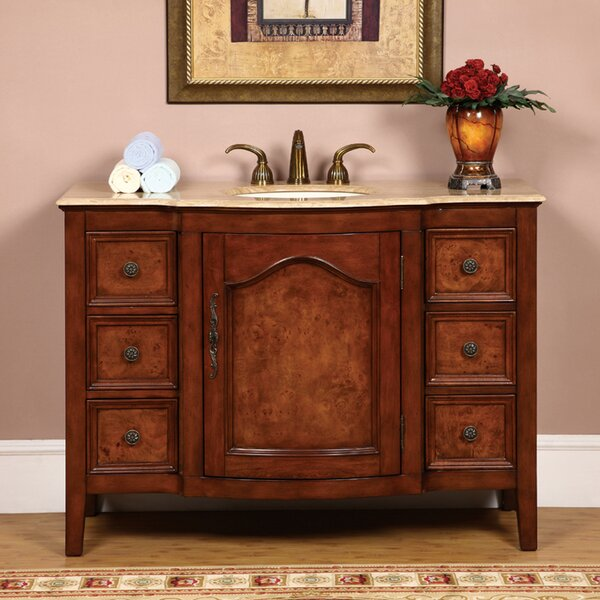 Pilger 48 Single Bathroom Vanity Set by Astoria Grand
