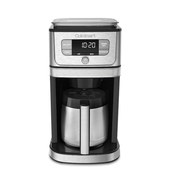 10-Cup Burr Grind & Brew Coffee Maker by Cuisinart
