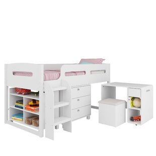 Deion Twin Loft Bed with Storage