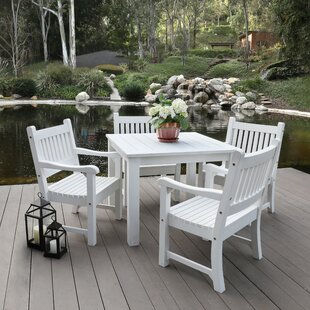 Sunrise 5 Piece Dining Set By Shine Company Inc.