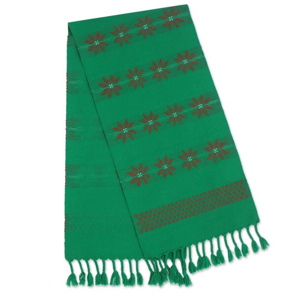 Colonial Lisu Festivities Cotton Thailand Table Runner by World Menagerie