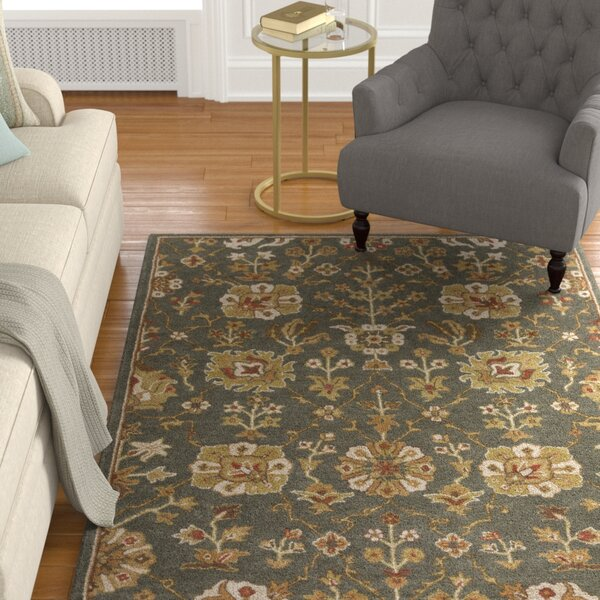 Phinney Hand-Tufted Gray Area Rug by Astoria Grand