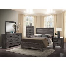 Raven Panel 5 Piece Bedroom Set by Union Rustic