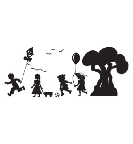 Kindergarten Wall Decal by Style and Apply