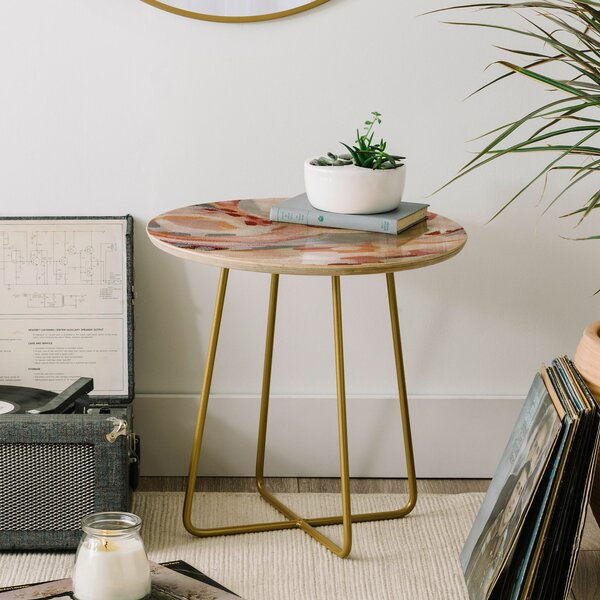Laura Fedorowicz Baby End Table by East Urban Home