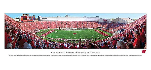 NCAA 50 Yard Line Unframed Panorama by Blakeway Worldwide Panoramas, Inc