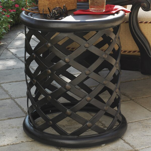 Kingstown Sedona Metal Side Table by Tommy Bahama Outdoor