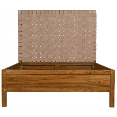 Mansard Queen Standard Bed by Noir