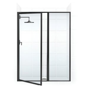 Hinged Shower Amp Bathtub Doors You Ll Love Wayfair