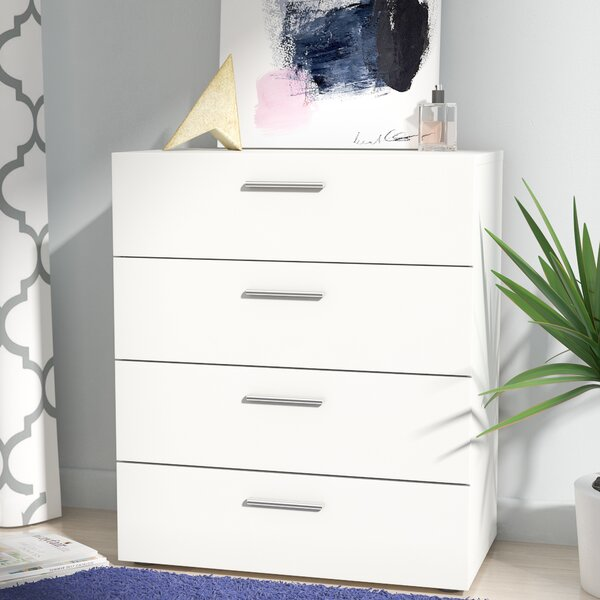 Amazing Pannell 4 Drawer Standard Dresser/Chest By Tvilum Savings