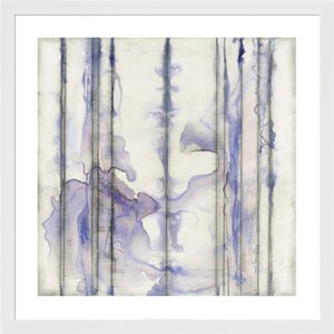 Visible Sound I by Jennifer Goldberger Framed Painting Print by Evive Designs