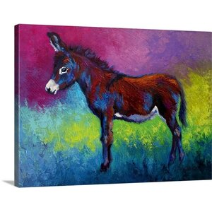 Little Jenny by Marion Rose Painting Print on Wrapped Canvas by Great Big Canvas