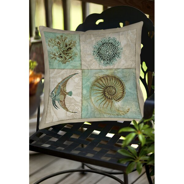 Reyna Indoor/Outdoor Throw Pillow by Highland Dunes