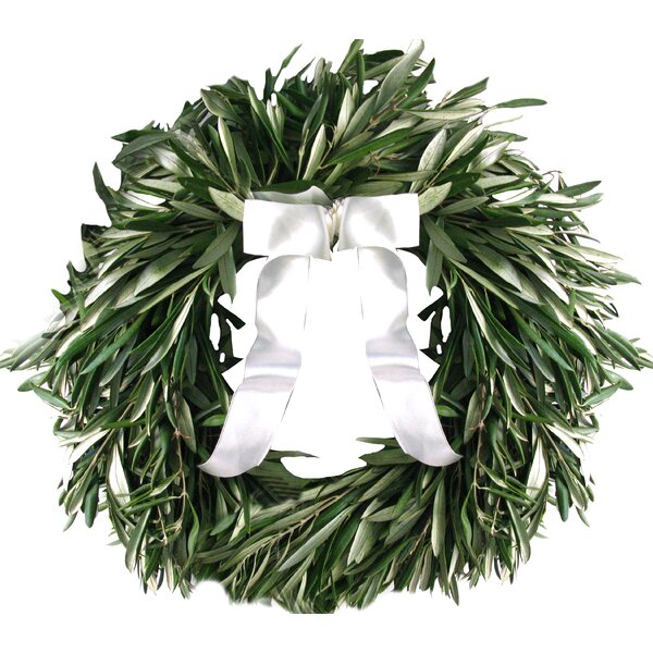 16 Olive Wreath by From the Garden