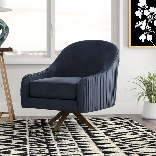 Mcmillen Swivel Lounge Chair by Mercury Row