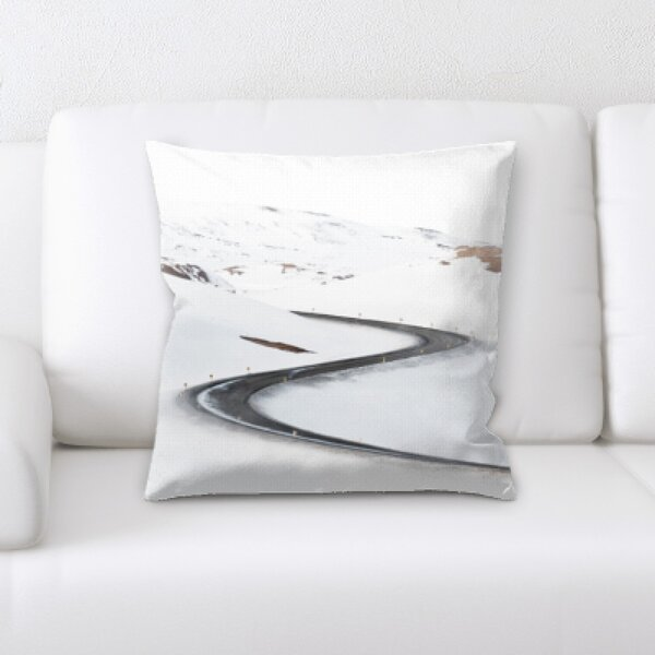 Winter Feeling (53) Throw Pillow by Rug Tycoon