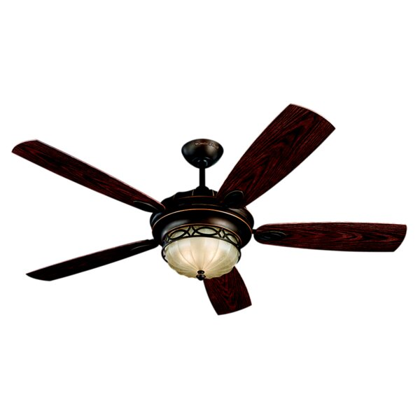 56 Edwardian 5 Blade LED Ceiling Fan by Monte Carlo Fan Company