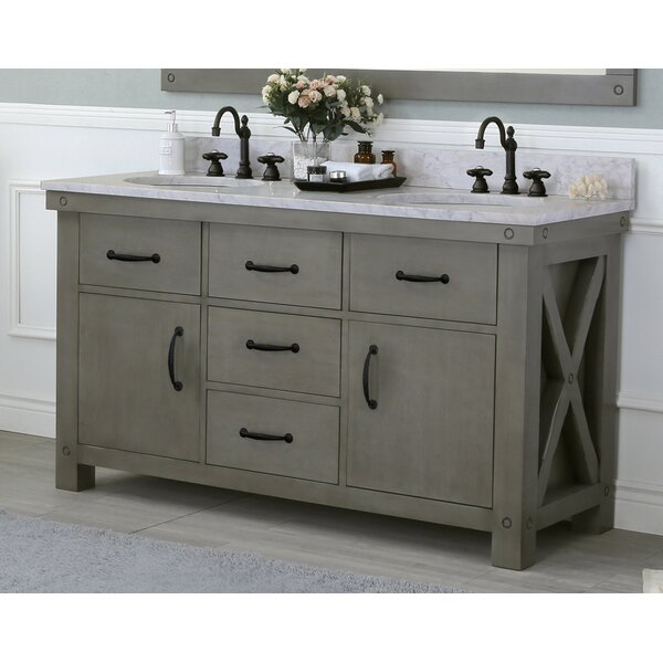 Cleora 60 Double Bathroom Vanity Set by Williston Forge