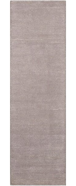 Calvin Klein Ravine Hand-Knotted Wool Fog Area Rug