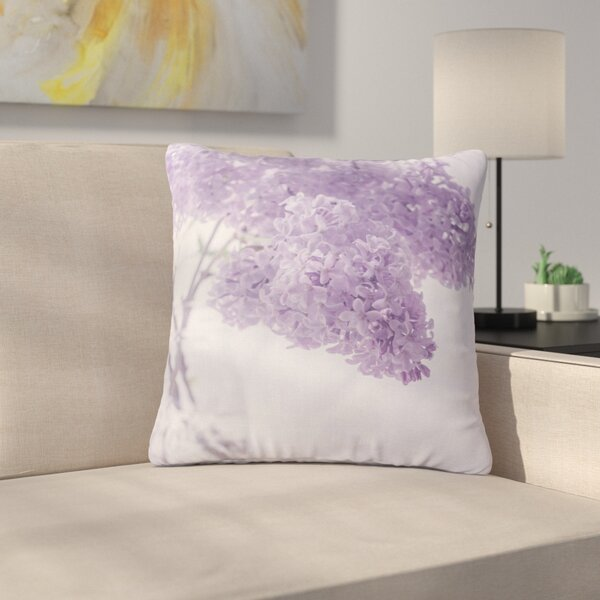 Suzanne Harford Floral Outdoor Throw Pillow by East Urban Home
