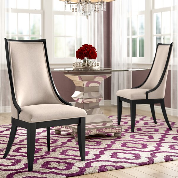 Bonifácio Upholstered Dining Chair (Set of 2) by Willa Arlo Interiors