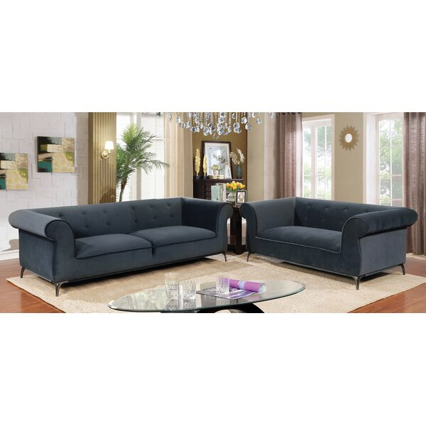 Glisson Configurable Living Room Set By Everly Quinn