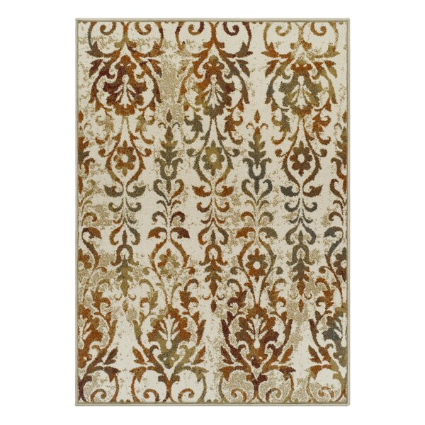 Innis Contemporary Ivory Area Rug by Winston Porter