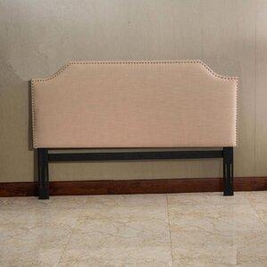 Templeton King Upholstered Panel Headboard by Alcott Hill
