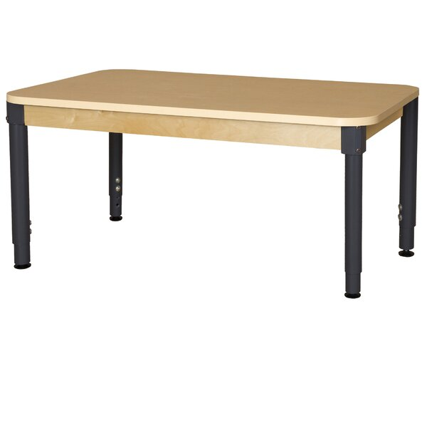 High Pressure Laminate 60 x 36 Rectangular Activity Table by Wood Designs