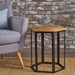 Korda End Table by Union Rustic
