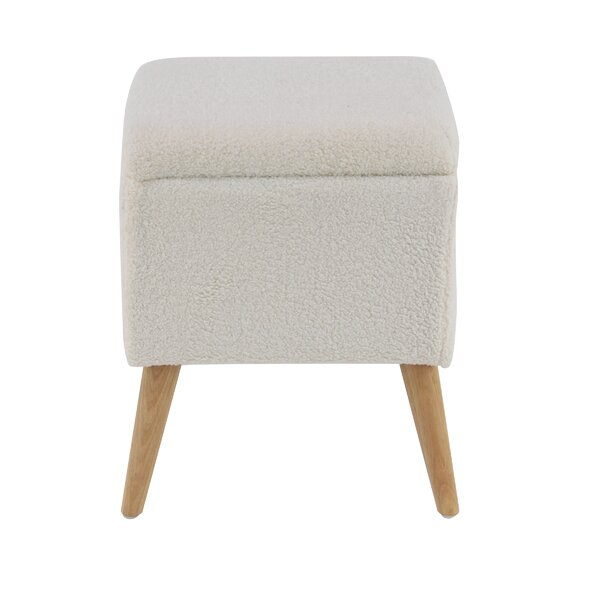 Hillcrest Eclectic Accent Stool by Wrought Studio