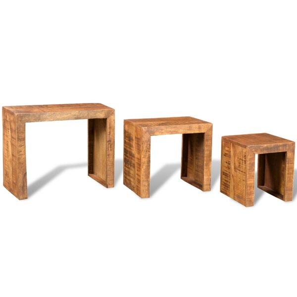 3 Piece Nesting Tables by World Menagerie