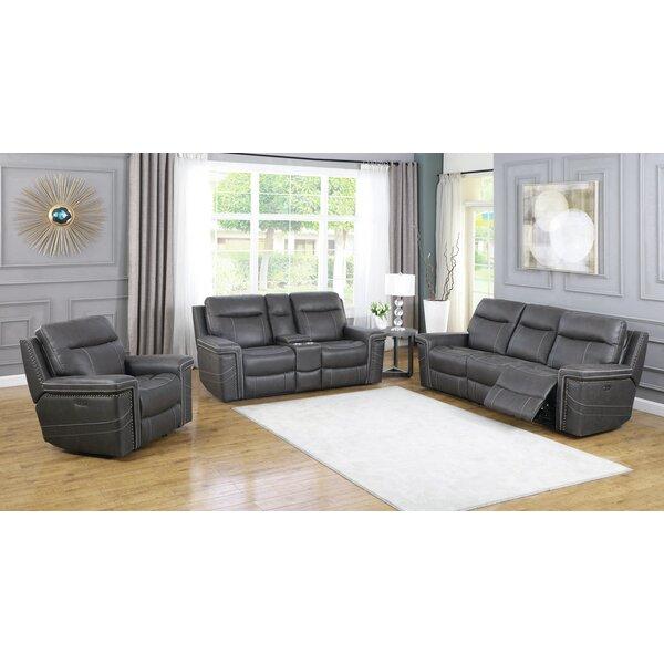 Lavenia Reclining Configurable Living Room Set by Red Barrel Studio Red Barrel Studio