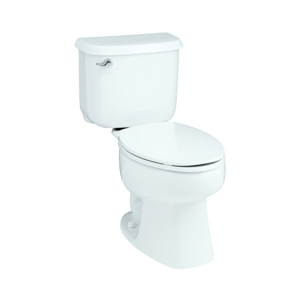 Windham 1.6 GPF Round Front 2 Piece Toilet by Sterling by Kohler