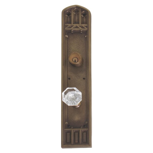 Renaissance Oxford Single Cylinder Handleset with Knob by BRASS Accents