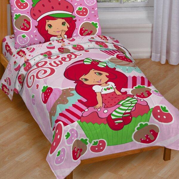 Sweet Cupcake Toddler Bedding Set by Strawberry Shortcake