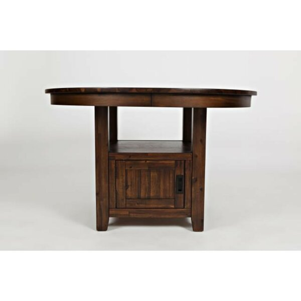 Mund Solid Wood Dining Table by Gracie Oaks