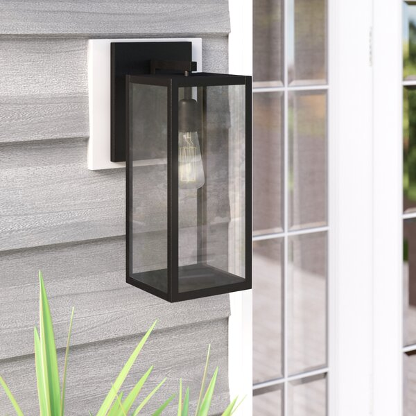 Rettig 1-Light Outdoor Wall Lantern by Wrought Studio