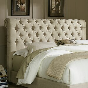 Dellinger Upholstered Sleigh Headboard by Darby Home Co