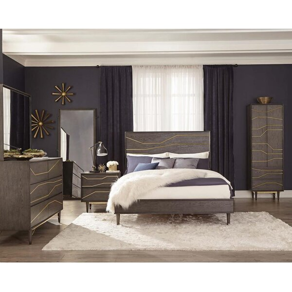 Grimm King Standard Configurable Bedroom Set by Brayden Studio