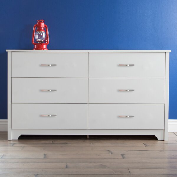 Fusion 6 Drawer Dresser by South Shore
